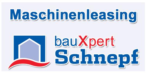 Maschinenleasing bauXpert Schnepf